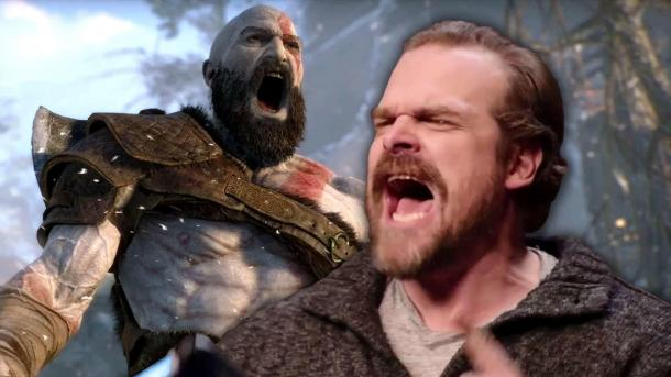 As an actor David harbour in the God of War played God of War