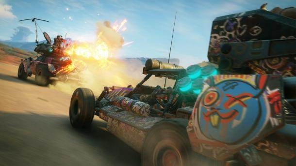 Screenshots and the first details of Rage 2 Rage 2