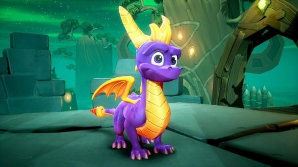 Compare Spyro Trilogy are reignited and the original Spyro games Spyro Reignited Trilogy