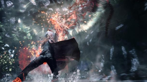 Prípojného vozidla, screenshoty Devil may Cry 5 TGS 2018 Devil May Cry 5