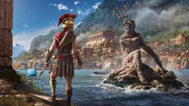 Assassin's Creed Odyssey: Greece real vs virtual Assassin's Creed: Odyssey