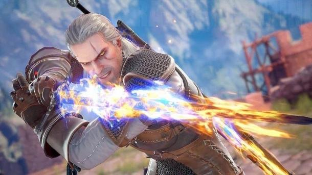 The passage of the campaign SoulCalibur VI for Geralt of Rivia Soulcalibur VI