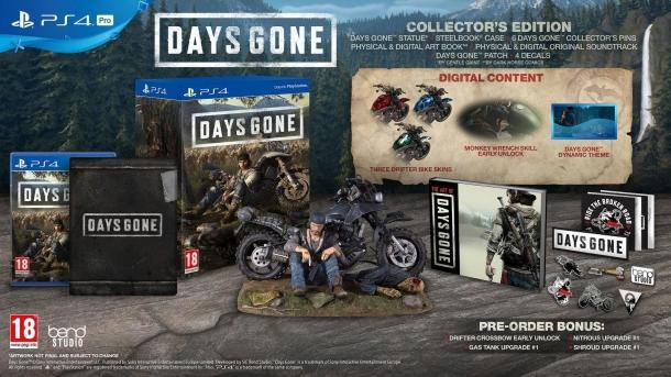 The new trailer for Days Gone and information on the editions of the game Days Gone