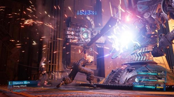 The gameplay demonstration Final Fantasy VII Remake from E3 2019 Final Fantasy VII Remake