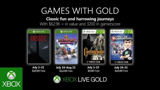 A list of free games for Xbox Live Gold for July 2019 Game industry
