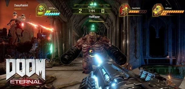 Мовие режим БАТТЛЕМОДЕ за ДООМ Eternal DOOM Eternal