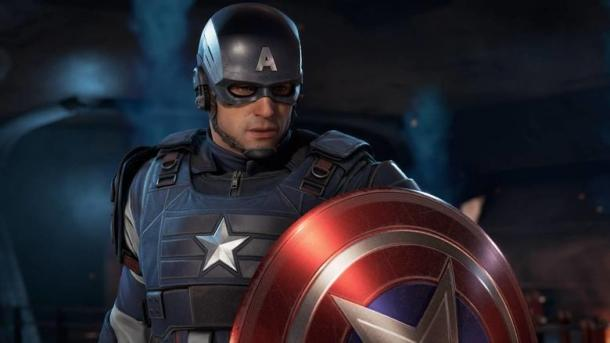The video covers the suit of Captain America from Marvel's Avengers Marvel's Avengers
