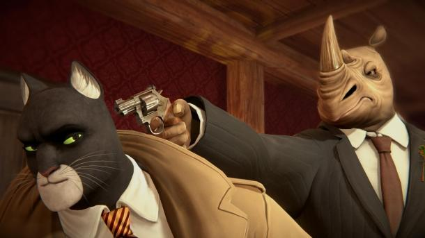 25 minuta ta gameplay Blacksad: Taħt il-Ġilda Blacksad: Under the Skin