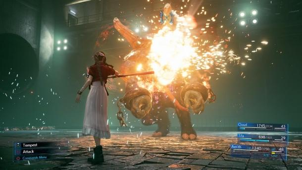 Indsamling af screenshots Final Fantasy VII Genindspilning Final Fantasy VII Remake