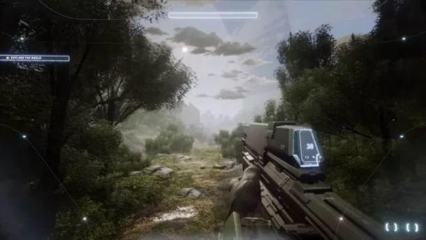 The player reproduced the gameplay demo of Halo Infinite Dreams Halo Infinite