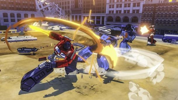 Demonstration of the gameplay Transformers Devastation Transformers Devastation