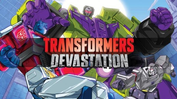 About the playable characters in the new video Transformers Devastation Transformers Devastation