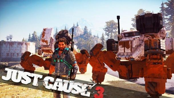 Addition Land Assault Mech for Just Cause 3 comes out this week Just Cause 3