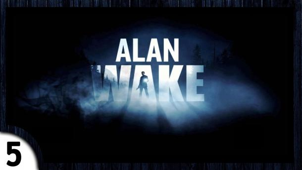 Passing Alan Wake: Escape from the police, the Road to the radio station [5] Alan Wake