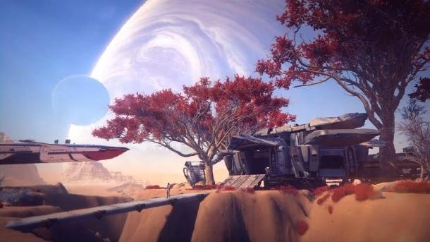 Screenshots Mass Effect: Andromeda E3 2016 Mass Effect 4