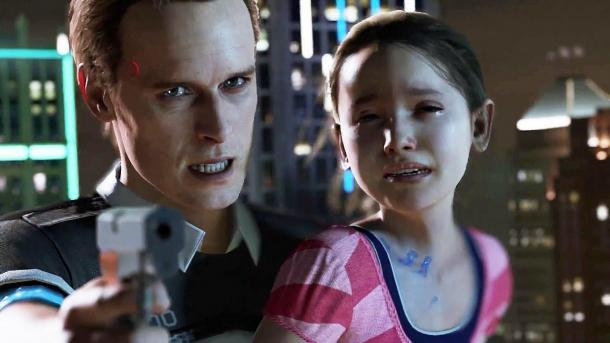 New trailer for the game Detroit Detroit: Become Human
