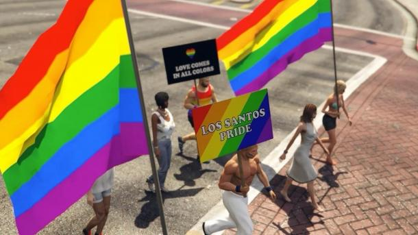 Out LGBT mod pre Grand Theft Auto 5 Grand Theft Auto 5