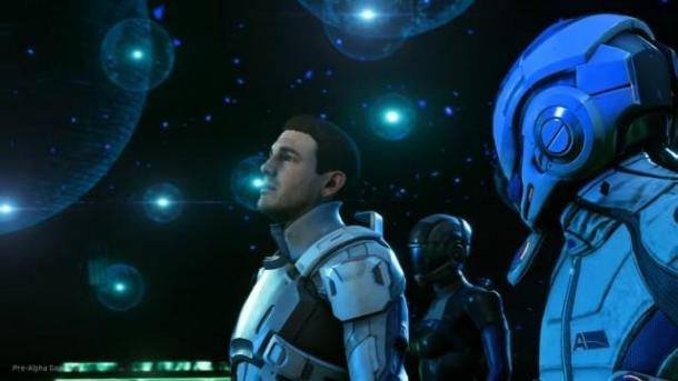Video Mass Effect: Andromeda with PlayStation Meeting Mass Effect 4