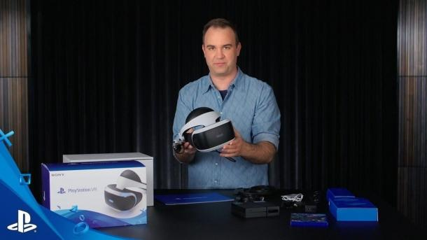 Unboxing PlayStation VR 's iron