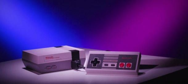 Promotional video console Nintendo Classic Mini 's iron