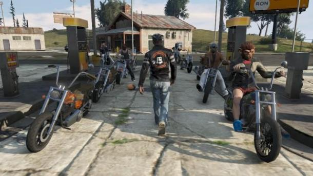 20 minutes of updates Bikers for GTA Online Grand Theft Auto 5