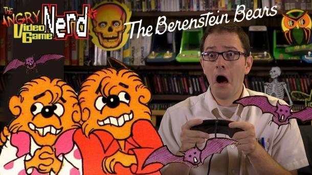 142 the episode of the Angry Video Game Nerd about the game Berenstein Bears Game industry