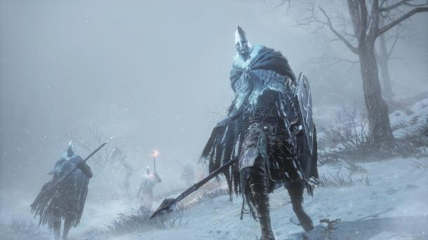 The first 15 minutes of add-on Ashes of Ariandel for Dark Souls 3 Dark Souls 3