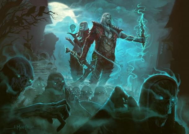Trailer additions Rise of the Necromancer for Diablo 3 Diablo 3: Reaper of Souls