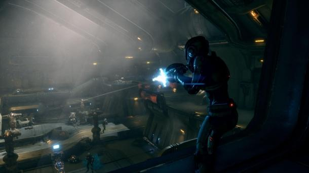 Screenshots from the game Mass Effect: Andromeda Mass Effect 4