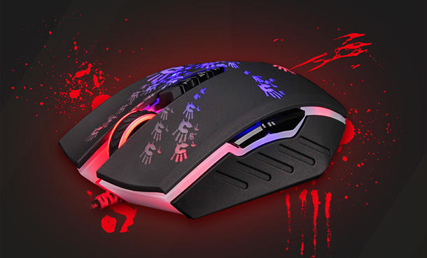 Overview iloveu mouse A4Tech Bloodу A60 's iron