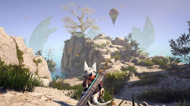 New screens of the game BioMutant BioMutant