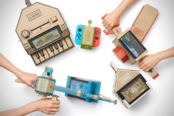 Several video Nintendo Labo Game industry