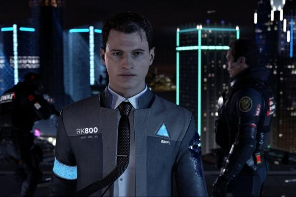 Interviews with actors Detroit: Become Human Detroit: Become Human