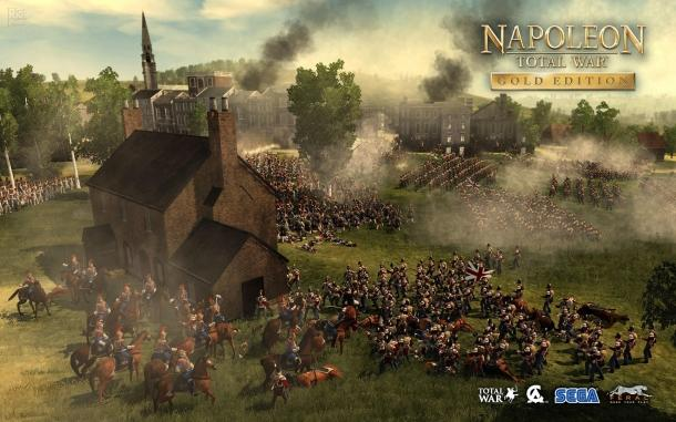 Wallpaper to celebrate the release of the Gold Edition Napoleon: Total War
