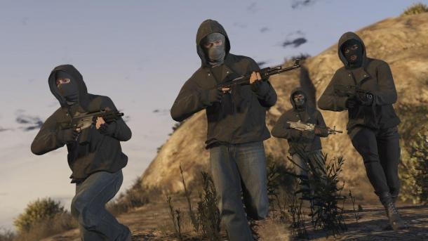 Screenshots of the DLC Heist GTA Online Grand Theft Auto 5