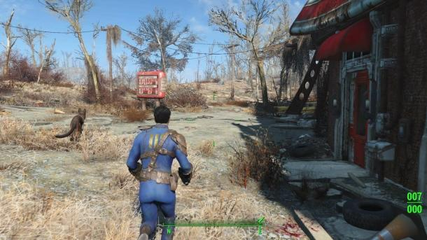 The first part of Fallout 4 Fallout 4