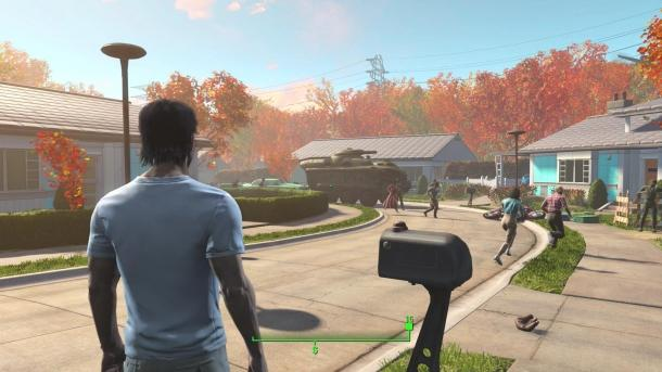 Screenshots of Fallout 4 PlayStation 4 c Game industry