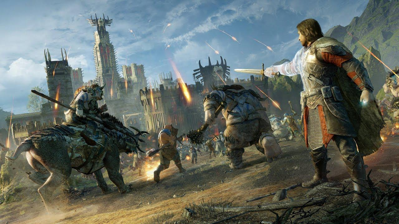 Геймплей Middle-earth: Shadow of War с выставки Comic-Con