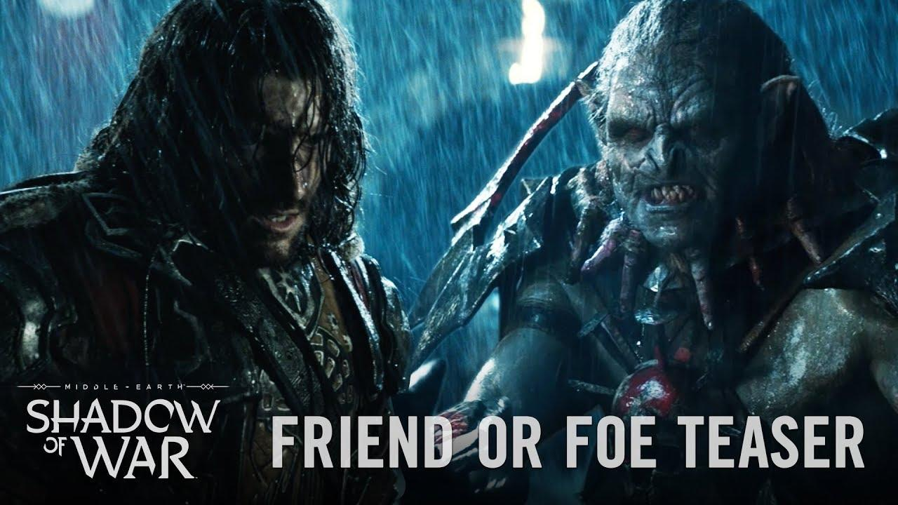 Live-action трейлер игры Middle-earth: Shadow of War