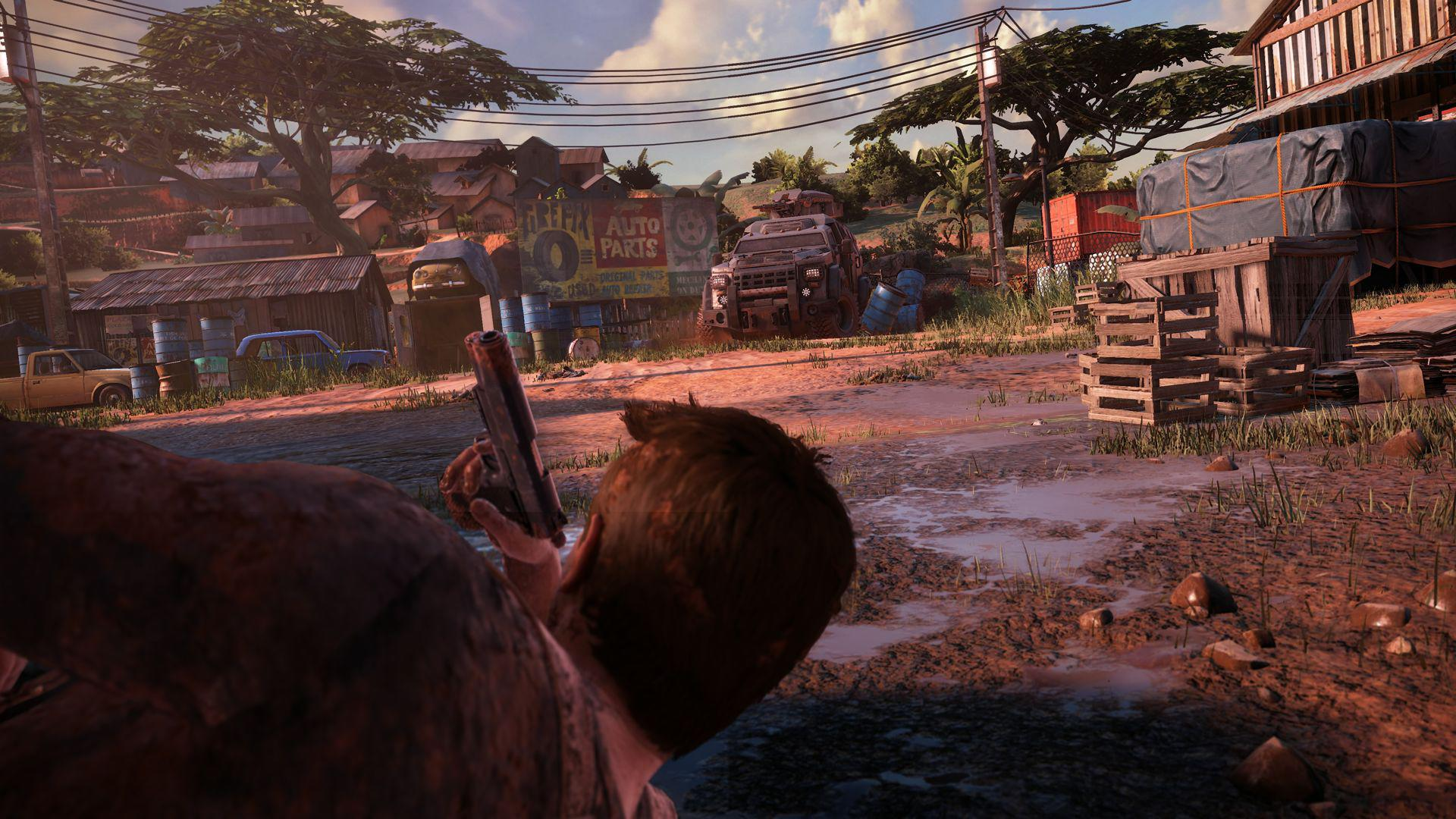 Много скриншотов Uncharted 4: A Thief's End